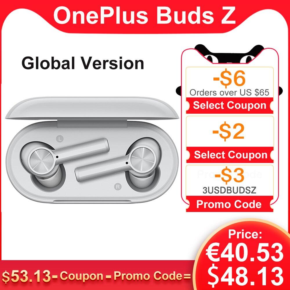 Original OnePlus Buds / Buds Z TWS Bluetooth Earphones 5.0 headphone Calling Environmental Noise Cancellation IP55 Headset